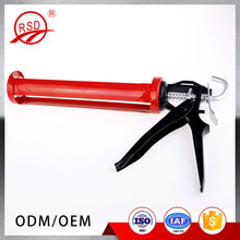 China good quality steel gun body aluminum alloy handle construction tool silicone caulking gun