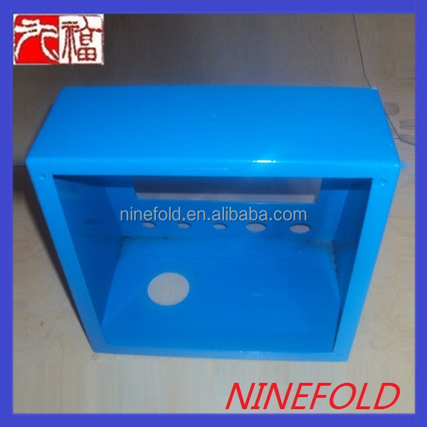 making sheet metal box with powder coating