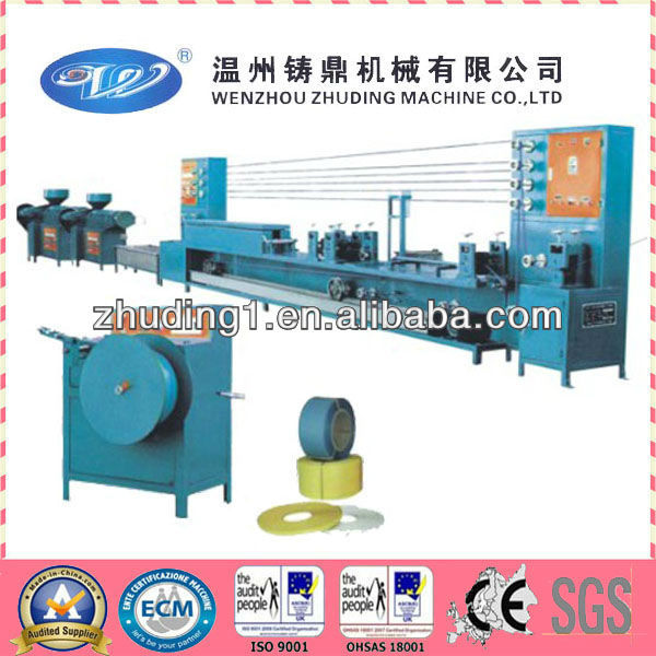 High capacity pet strap making machinery