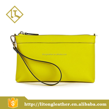 2016 Latest Lady Purse custom design women zipper handbag