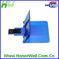 fancy rectangle card USB flash drive credit pen drive