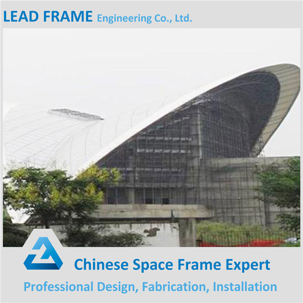 Space Frame Steel Construction Stadium Prefabricated Building