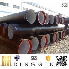 EN545 100mm k9 ductile iron pipe pricing with SGS test report