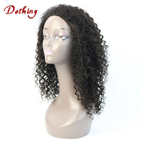 Most Popular Products Natural Black Loose Curl Brazilian Hair Lace Front Wig