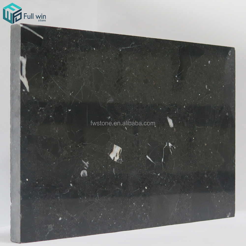 Anti-infiltration artificial belgium black marble