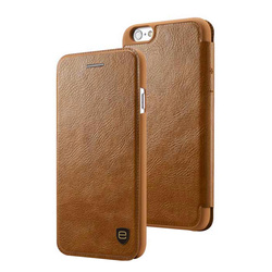 Newest Stylish Flip Magnetic wallet leather case with card slots for iPhone 6