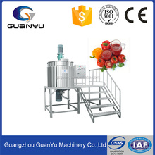 Stainless steel electric tomato and ketchup making machine for mixing and heating