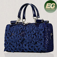 Hot sale leather bags hollow design face bag cheap price leather handbag shoulder bag EMG4294