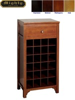 24 Bottles Wine Rack Small Home Bar Cabinet Furniture For Sale