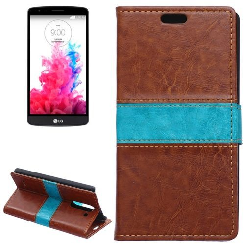 Factory Price Wallet Style Leather Case for LG G3 Stylus Flip Cover