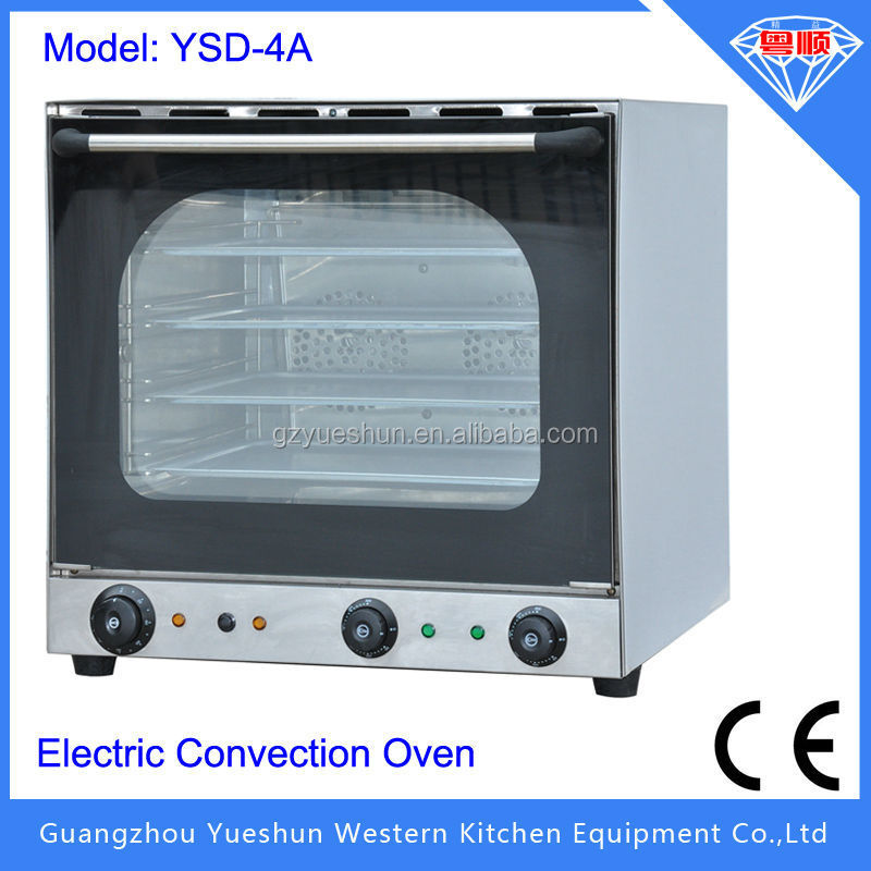 china factory 2015 Hot selling high-speed electric convection oven with steam