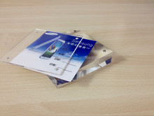 quality transparent perspex mobile phone sign holder advertising pop plexiglass sign holder for mobile phone store