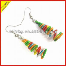 2013 fashion friendship dangle thread earrings