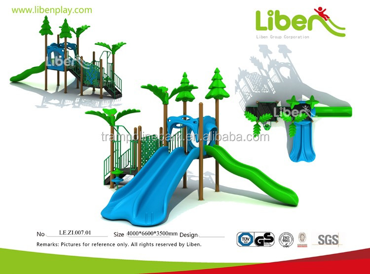 Durable hot sale custom made amusement park play toys outdoor for kids
