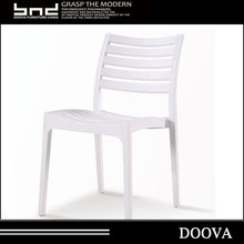 Heavy duty outdoor garden use cheap plastic chair price PP049