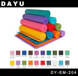 PVC Yoga Mat / PVC Exercise Mat / PVC Gym Mat