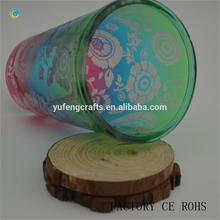 candle holder decoration ideas changing color candle holder