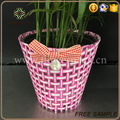 flower decoration colorful paper mesh plastic flower bag