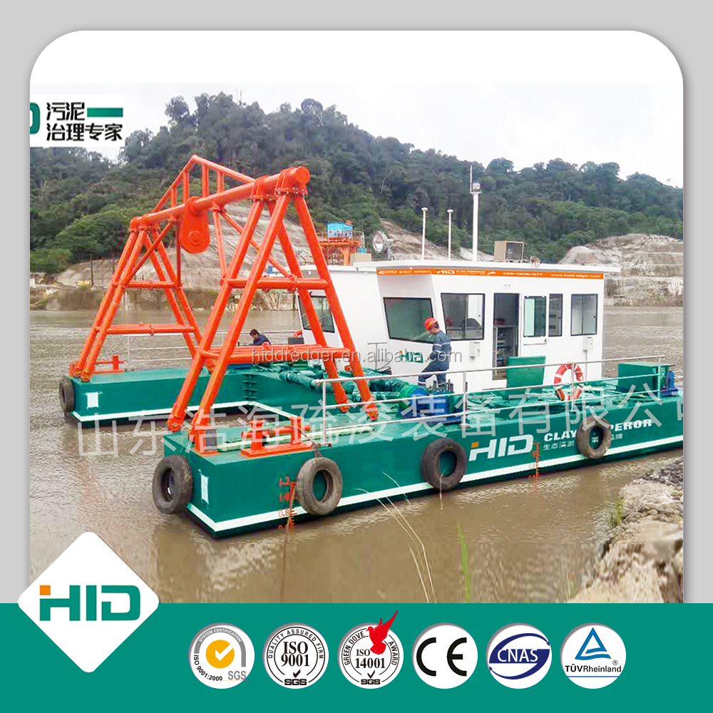20 Inch Full Hydraulic Cutter Sand Suction Dredger With Good Price