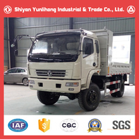 China Famous Dongfeng 4x4 Diesel 5 Ton Four Wheel Drive Truck Mini Dump Truck