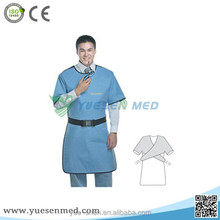 Medical radiation protective x-ray lead coat apron