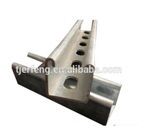 adjustable galvanized solar panel pole mounting brackets