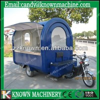 3 wheels electro-tricycle mobile food cart