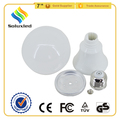 plastic housing for lighting lamp parts wholesale 3-15w