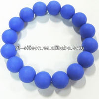2017 Fashion Jewelry Silicone Bead Bracelet