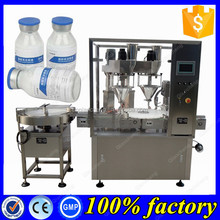 Automatic 2 nozzles higher speed powder filling machine,pharmaceutical powder filler