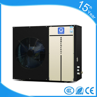 10KW low ambient temperature stable working air to water heat pump r407 evi heat pump hot water