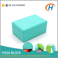 Yoga & Pilat Type High Density Recycled Embossing Yoga Block