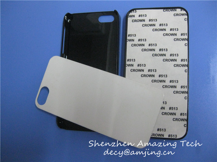 For iphone Sublimation case, 2D Sublimation Case, Blank Sublimation phone cases with metal plates