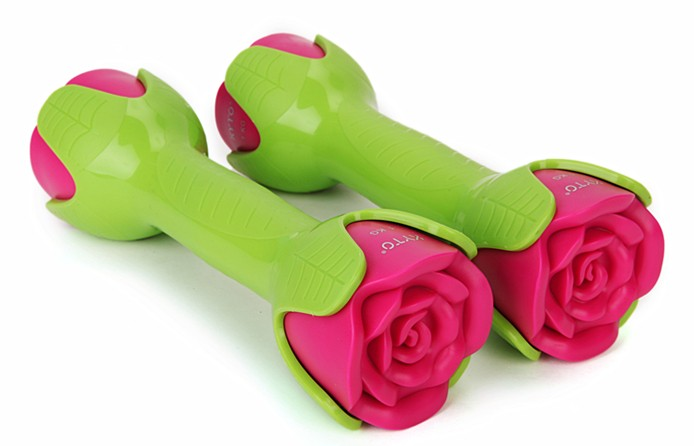KYTO original new lady dumbbell with top classic peony design