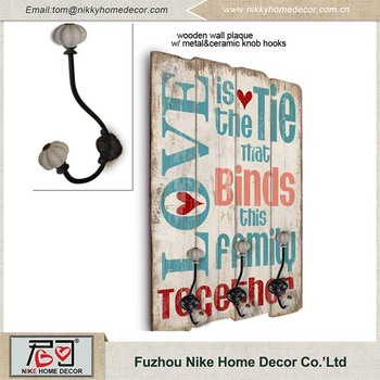best selling products home decorating wooden signs with