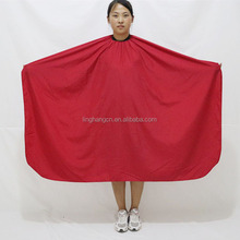 Factory Direct Sales 165*145 cm Polyester Pongee Waterproof Hairdressing Cape