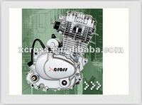 Chinese Cheap Strong Power OHV 200CC Air Cooled Engine For Motorcycles