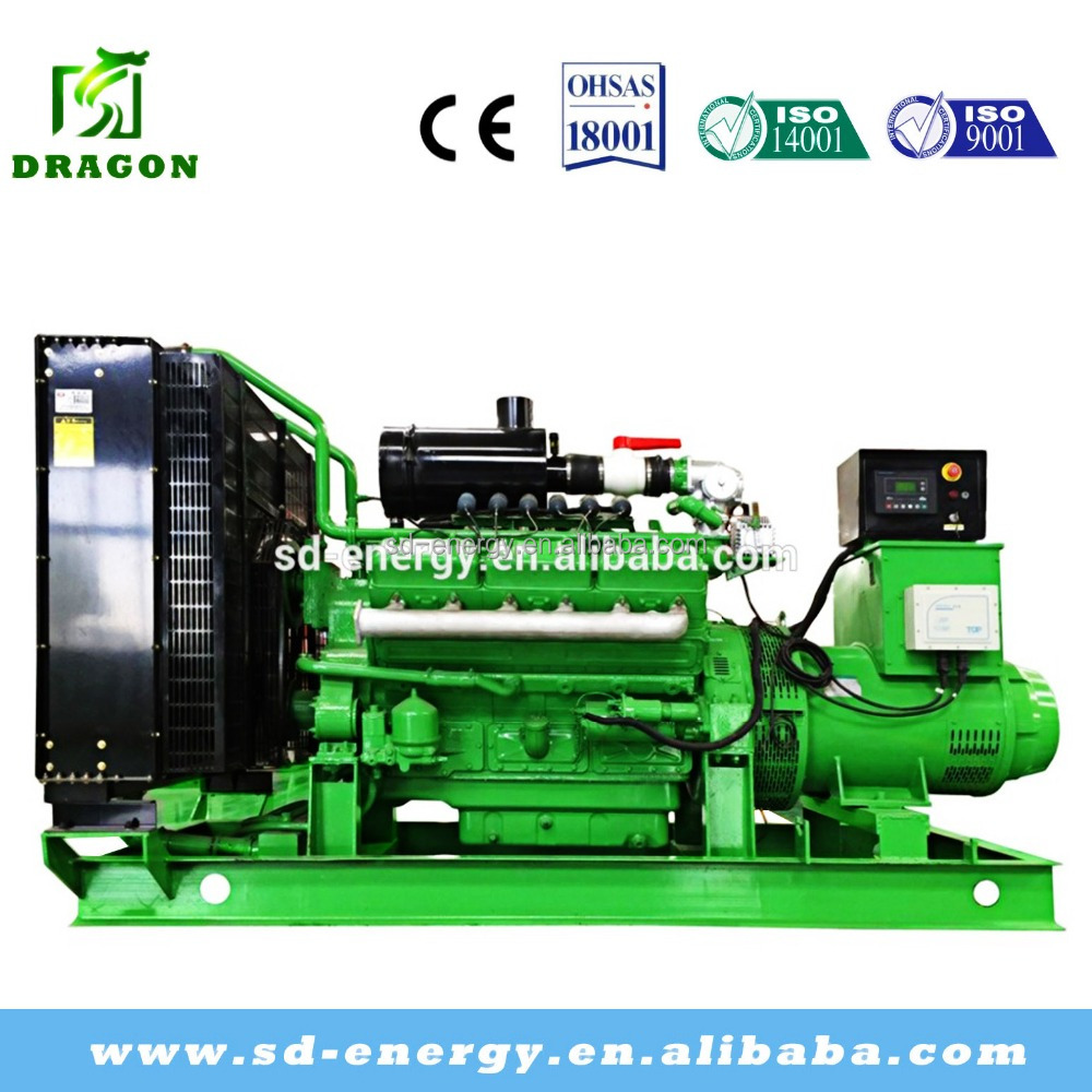 AC Three Phase Shale Gas/Semi Coke Gas/Coal Gas Generator Price
