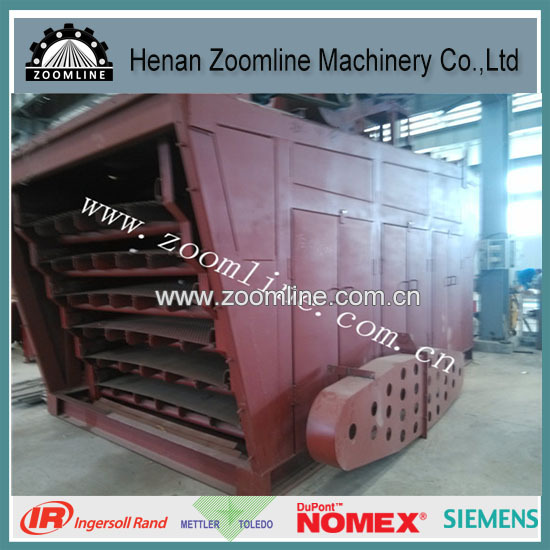 vibrating sifter for asphalt mixing plant