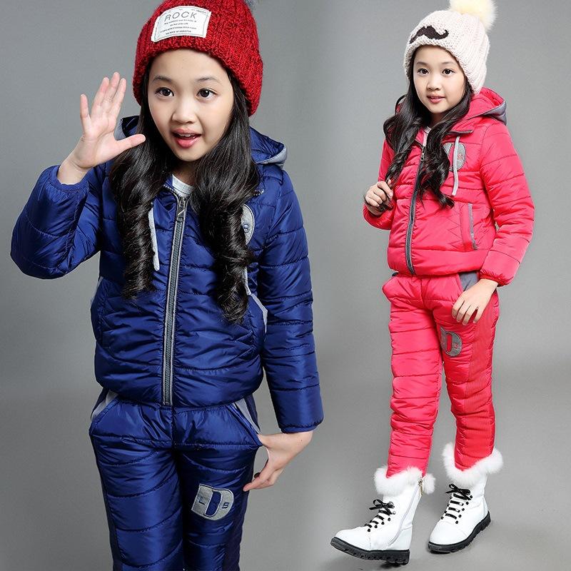 Стильная зимняя одежда для девочки