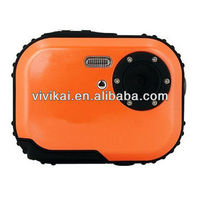 Cheap 1.8 TFT LCD waterproof Digital camera with 8X digital zoom 3meters underwater