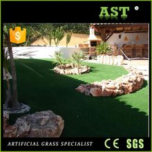 Natural Beige Thatch Environment Friendly Artificial Grass In Roll