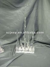 2012 Lastest design home decoration 3D acrylic icicles