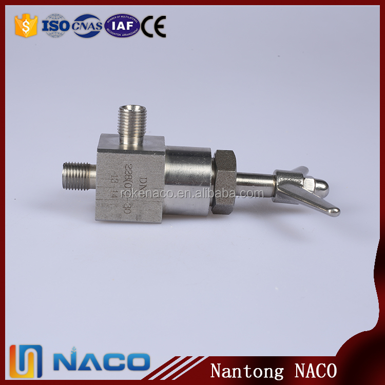 Stainless Steel Non Return Mini Angle Needle Valve