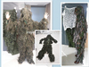 Camouflage Military Rainsuit Police Rain Suits With Ground Sheet And Tent Purpose, traje militar de camuflaje