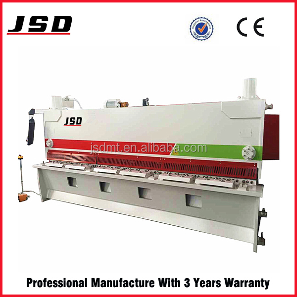 JSD brand CE standard QC11Y automatic vertical shearing machine in high quality