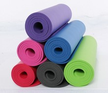 15mm thick NBR foam yoga mats with holes