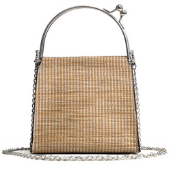 China cheap customized tote straw bag mexico