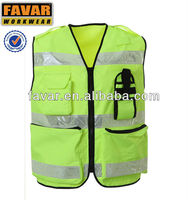 high visible traffic safety vest iro horse vest men vest