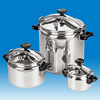 Energy Saving Stainless Steel Big Cooker Mini Rice Gas Commercial Pressure Cooker